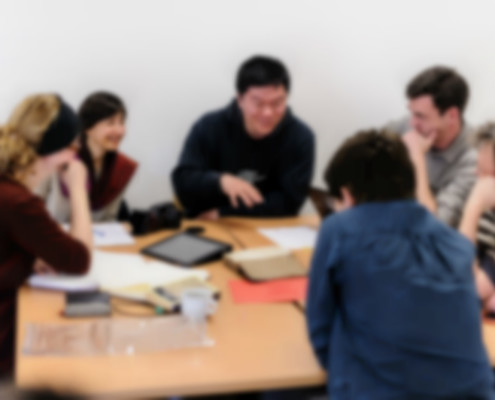 Image of focus group interview